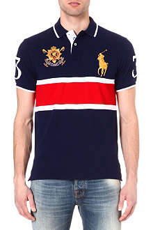 RALPH LAUREN Big Pony custom-fit polo shirt