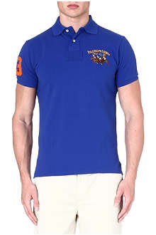 RALPH LAUREN Custom-fit cotton polo shirt