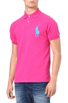 RALPH LAUREN Custom-fit Tonal Big Pony polo shirt