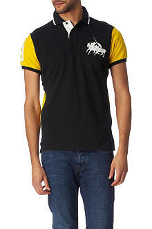 RALPH LAUREN Custom-fit Dual Match polo shirt