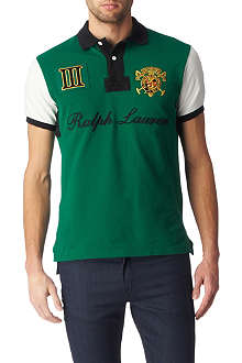 RALPH LAUREN Custom-fit Crest polo shirt