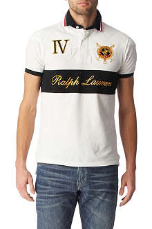 RALPH LAUREN Custom-fit Crest Script polo shirt
