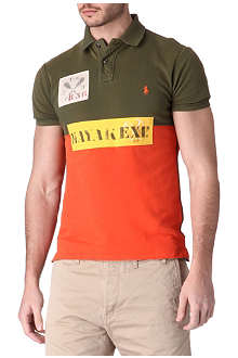 RALPH LAUREN Slim-fit polo shirt