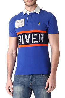 RALPH LAUREN Slim-fit rugby polo shirt