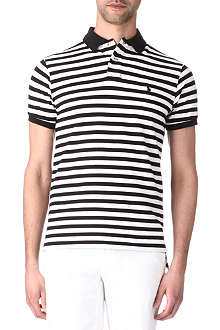 RALPH LAUREN Custom-fit striped polo shirt
