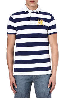 RALPH LAUREN Custom-fit crossed mallets polo shirt