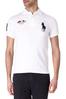 RALPH LAUREN Slim-fit Yacht club polo shirt