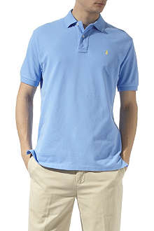 RALPH LAUREN Classic weathered mesh polo shirt