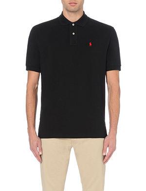 RALPH LAUREN Classic weathered mesh polo shirt