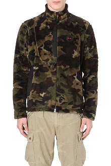RALPH LAUREN Camouflage fleece jacket