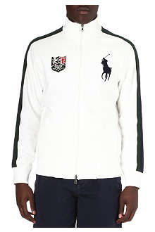 RALPH LAUREN Wimbledon zip-up sweatshirt