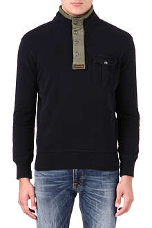 RALPH LAUREN Button-neck top