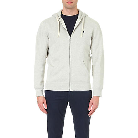 RALPH LAUREN Zip–up hoody (Light+sport+heather