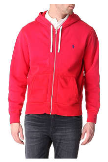 RALPH LAUREN Zip-up fleece hoody
