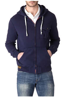 RALPH LAUREN Pocket zip-up hoody