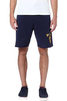 RALPH LAUREN Logo-print jersey shorts