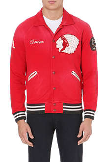 RALPH LAUREN Appliqué baseball jacket