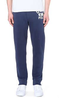 RALPH LAUREN Logo-print jersey jogging bottoms