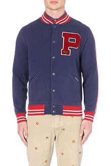 RALPH LAUREN Jersey baseball jacket