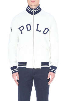 RALPH LAUREN Jersey zip up jacket