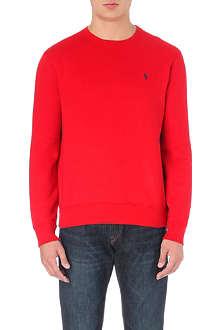 RALPH LAUREN Crew-neck jersey sweatshirt