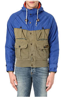 RALPH LAUREN Rustic hooded fleece jacket