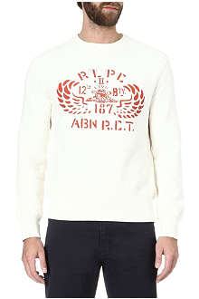RALPH LAUREN Airborne fleece sweatshirt