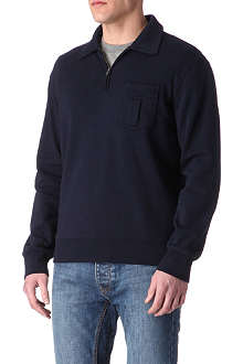 RALPH LAUREN Zip-collar jumper