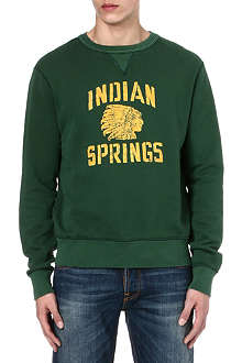 RALPH LAUREN Native American print sweatshirt