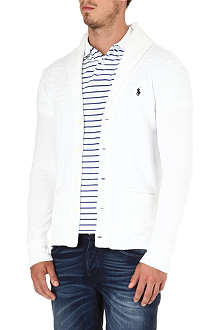 RALPH LAUREN Cotton-blend jersey cardigan