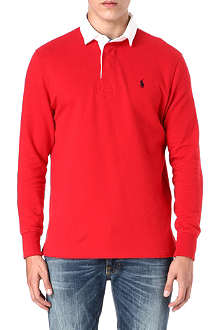 RALPH LAUREN Rugby long-sleeve polo shirt