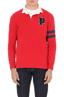 RALPH LAUREN Appliqué-detail rugby shirt