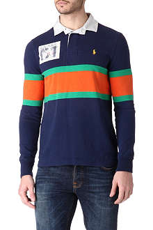 RALPH LAUREN Rugby long-sleeved polo shirt