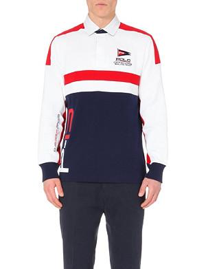 RALPH LAUREN Rugby cotton-jersey polo shirt
