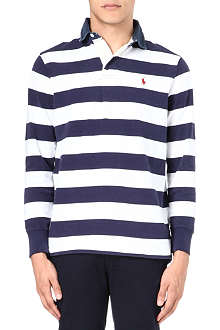 RALPH LAUREN Striped rugby shirt