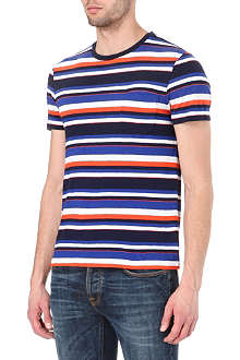 RALPH LAUREN Striped jersey t-shirt