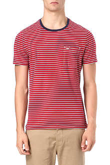 RALPH LAUREN Custom-fit striped t-shirt