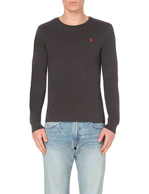 RALPH LAUREN Custom-fit cotton-jersey t-shirt