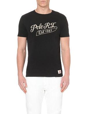 RALPH LAUREN Logo-print cotton-jersey t-shirt
