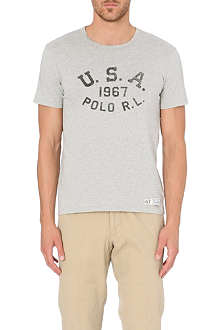 RALPH LAUREN 1967 cotton-jersey t-shirt