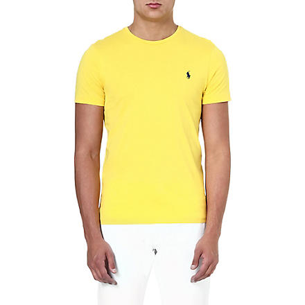 RALPH LAUREN Custom-fit cotton t-shirt (Graph.yllw