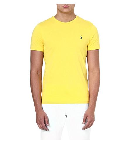 RALPH LAUREN Custom-fit cotton t-shirt (Graph.yllw