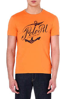 RALPH LAUREN Custom-fit cotton t-shirt