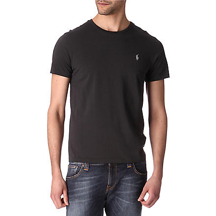 RALPH LAUREN Custom–fit t–shirt (Autumn+grey