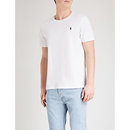 RALPH LAUREN Custom–fit t–shirt (White