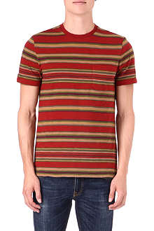 RALPH LAUREN Striped crew-neck t-shirt