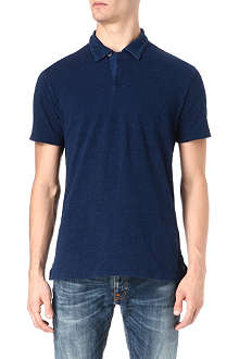 RALPH LAUREN Denim polo shirt