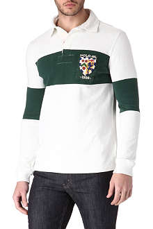 RALPH LAUREN Custom-fit Rugby polo shirt