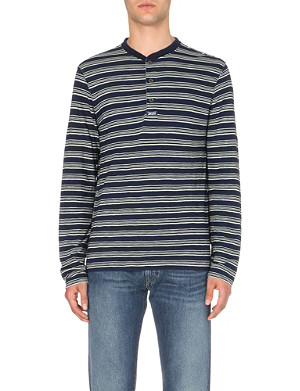 RALPH LAUREN Cotton-jersey top