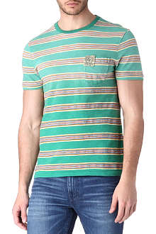 RALPH LAUREN Multi-stripe t-shirt
